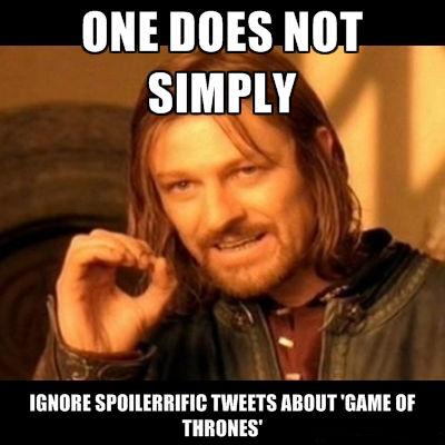 one does not simply GoT