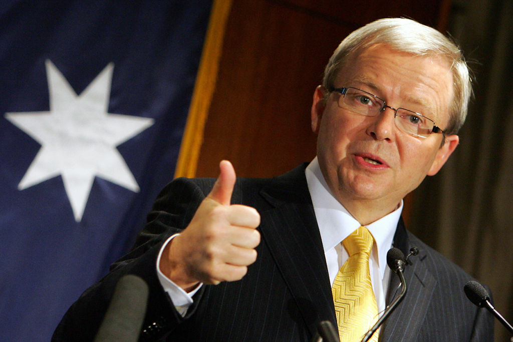 News Limited Calls Out Kevin Rudd For Being Fat Because This Is Where We Re At Now