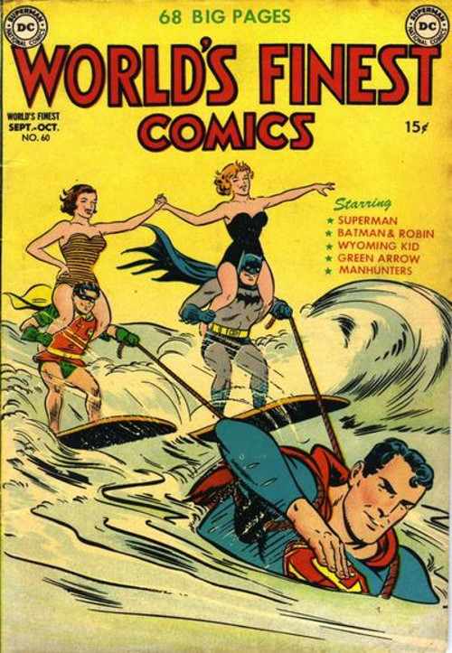 World's Finest #60, published 1952 by DC