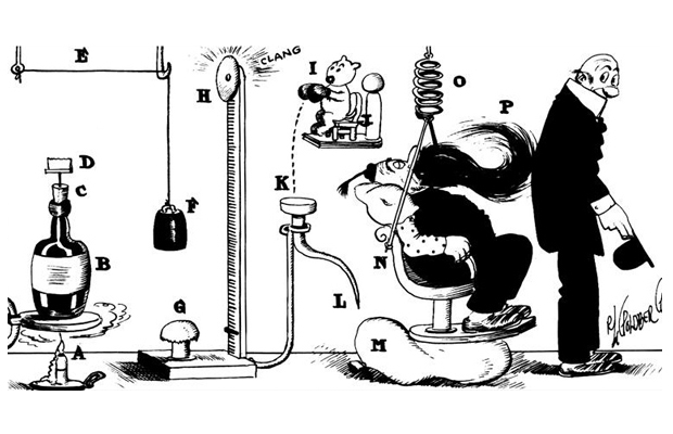 ARTWORK COPYRIGHT © RUBE GOLDBERG INC. ALL RIGHTS RESERVED.