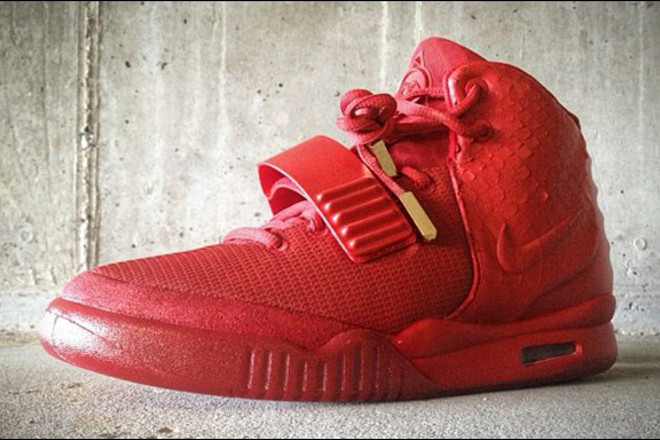 0256f70f1 ... Nike shocked its fervent followers by doing a Beyonce and releasing  Kanye West s custom-designed Nike Air Yeezy 2 sneakers — codename   Red  October  ...