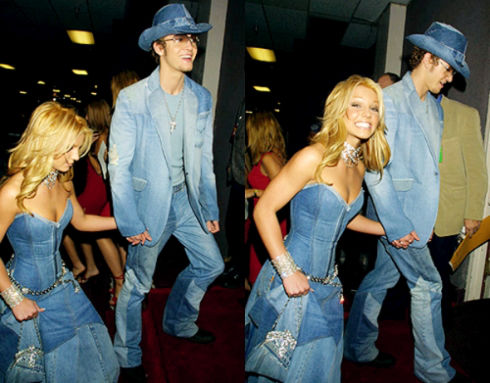 NEVER FORGET DOUBLE DOUBLE DENIM.