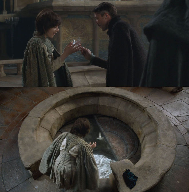 Oooh, thanks Uncle Petyr! Into the bin!