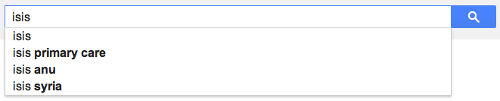ISIS google