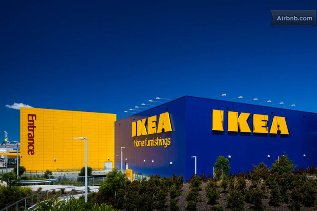 You Can Now Rent Out An Ikea Showroom. To Sleep In.