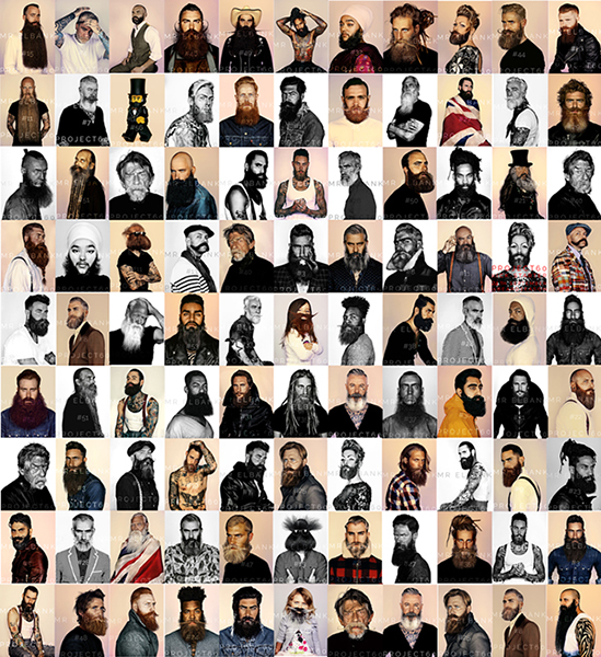 Project 60. Lots of beards.