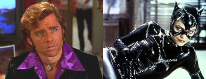 One went on to play a slinky pervert; the other, Catwoman.