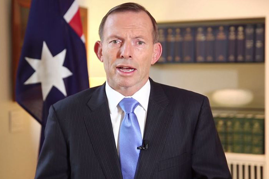 Tony Abbott thank you for putting up with the invasion