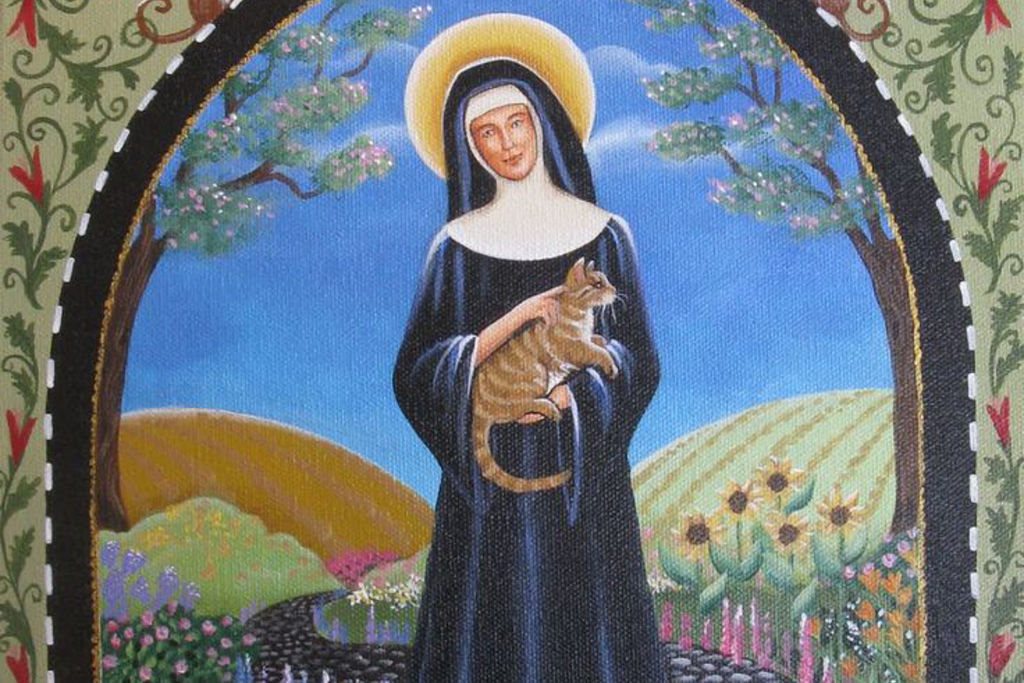 Today Is Also 'St Gertrude's Day'; Celebrate The Patron Saint Of Cats