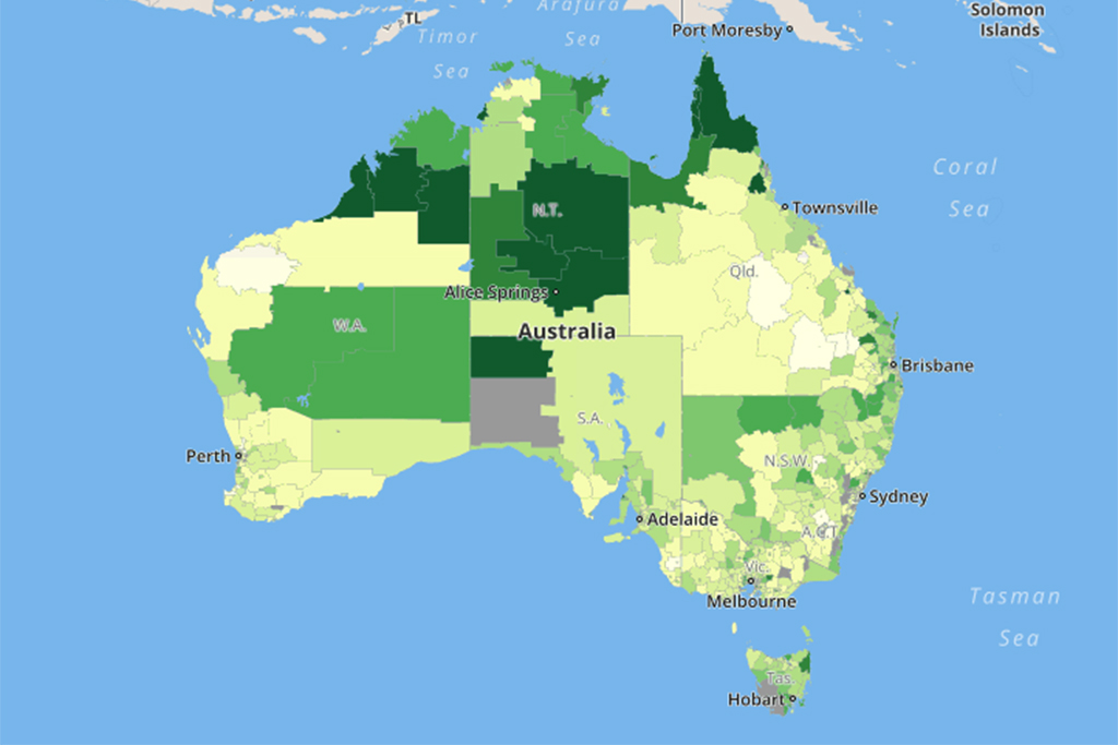 Show A Map Of Australia.Sbs Has Made A Fascinating Interactive Map Highlighting Australia S