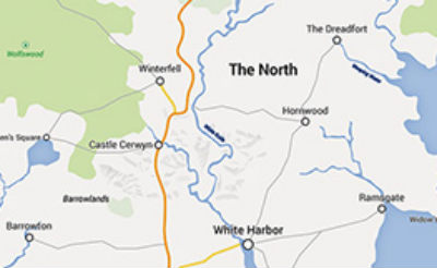 Someone Made A Google Map Of Westeros From Game Of Thrones If