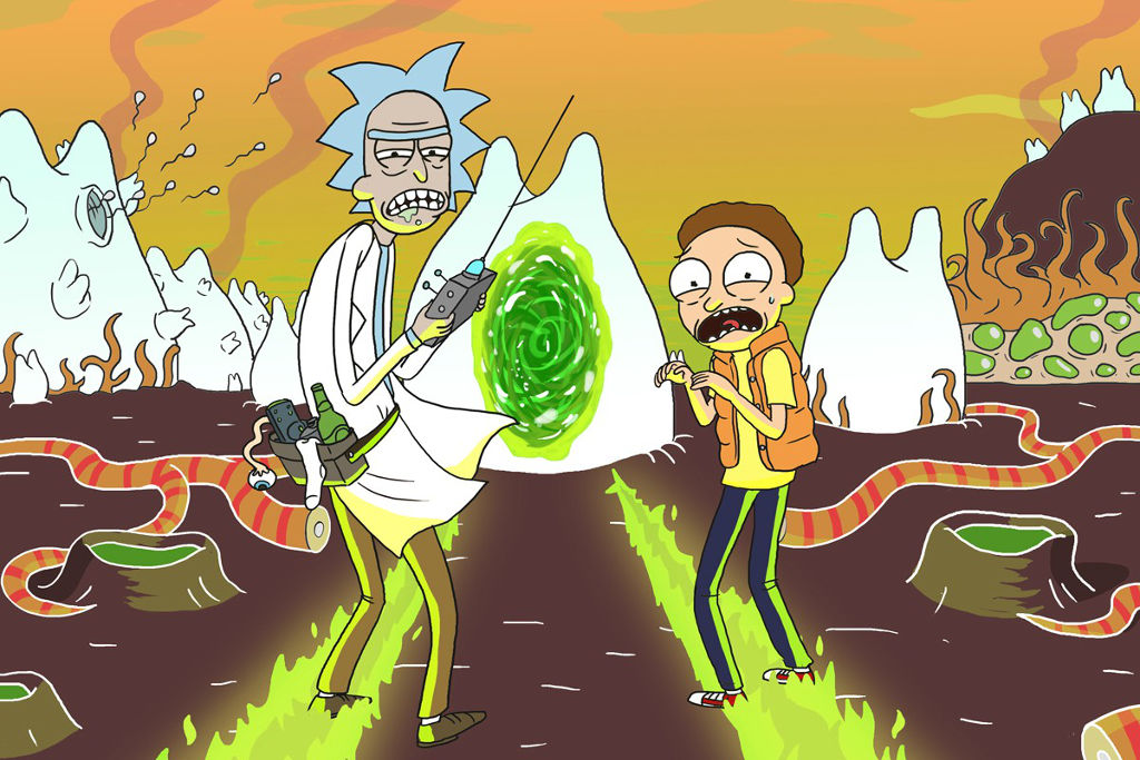 The Mad Genius Of Adult Swim S Rick And Morty