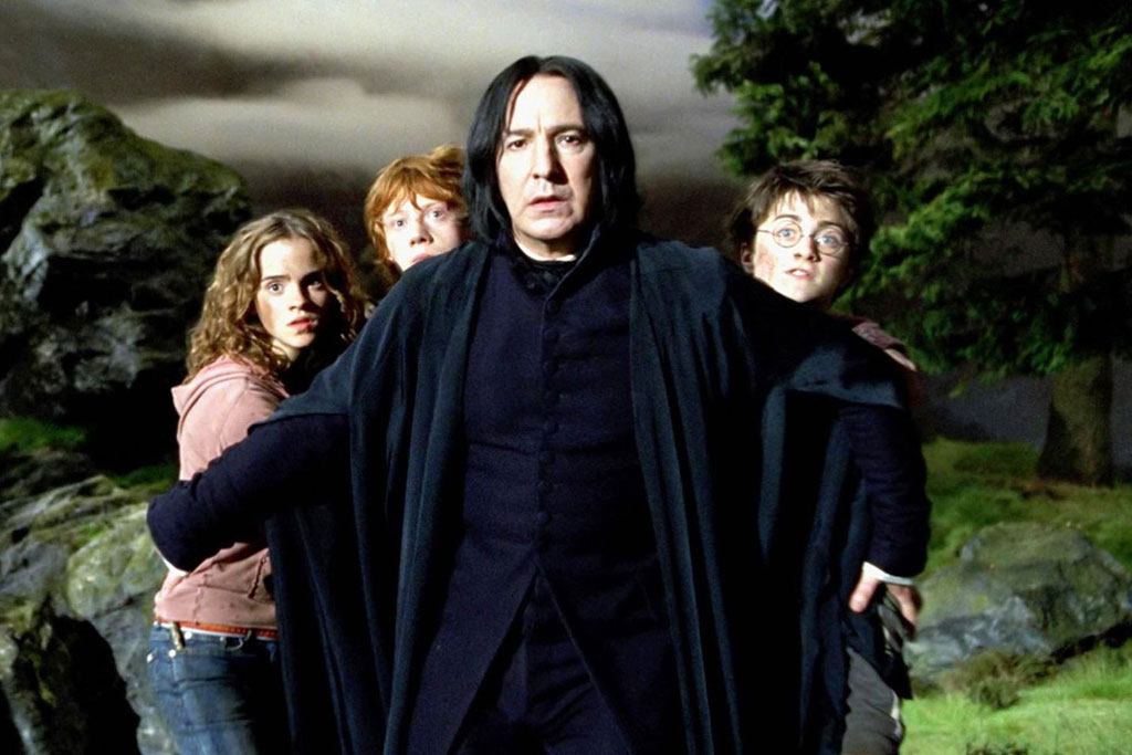 JK Rowling Won't Stand For You Bad-Mouthing Severus Snape