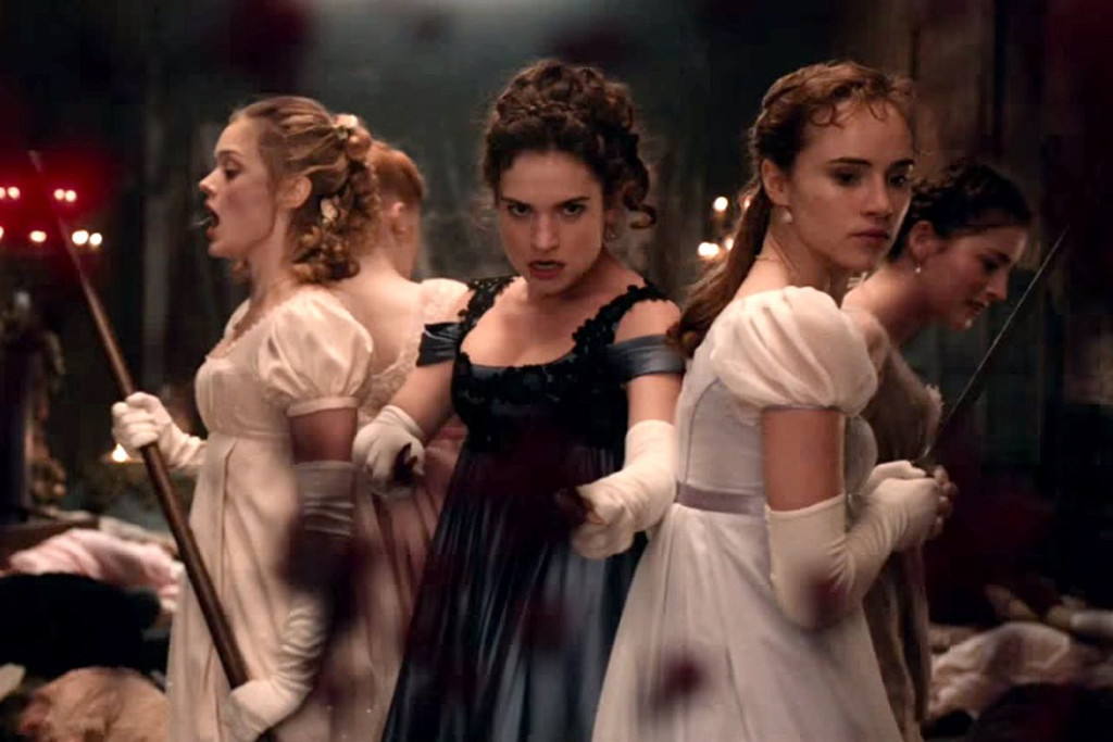 pride and prejudice and zombies review yep it is definitely   pride and prejudice and zombies review yep it is definitely both of those things