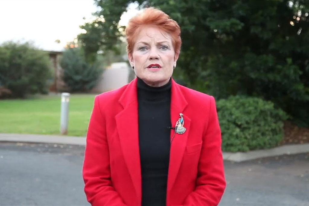 Pauline Hanson Wants To Fix The NBN Because Kids