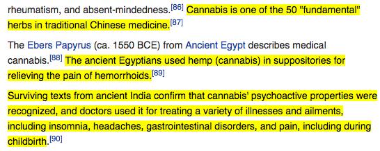 Wikipedia cannabis
