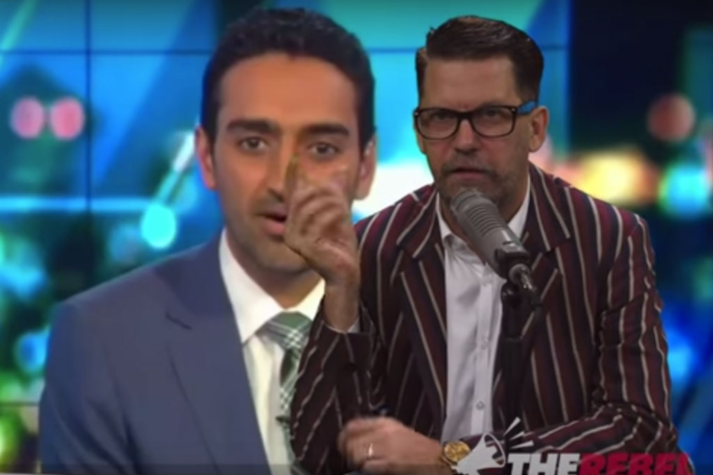 Vice Co-Founder Gavin McInnes Has Ripped Apart Waleed Aly's Critique Of Trump And The Media