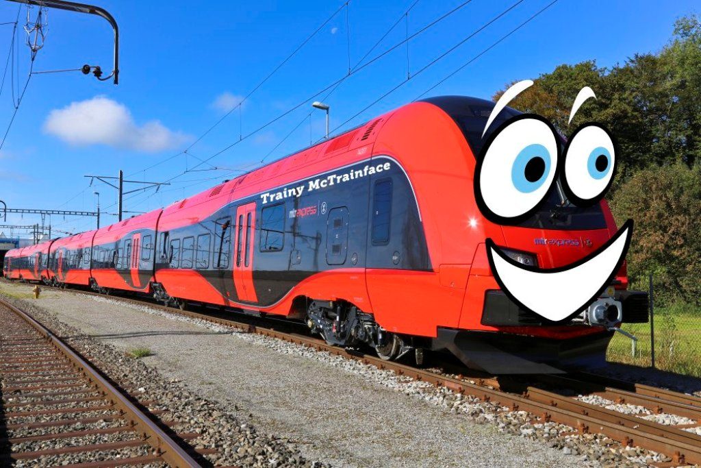 Online voters name new Swedish train 'Trainy McTrainface'