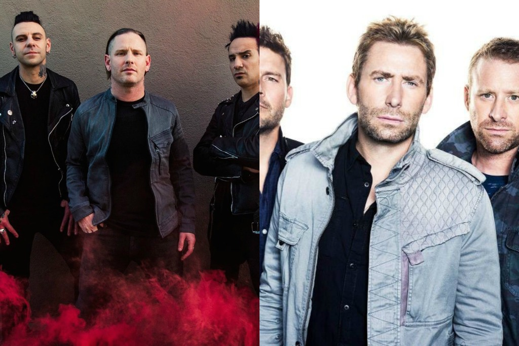 we compared the new nickelback and stone sour albums to see who