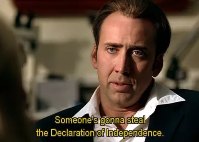 In Defence Of National Treasure: An Amazing (And Amazingly ... on triangular trade map, proclamation of 1763 map, battle of bunker hill map, texas independence map, john adams map, white house map, america map, deep south map, new york map, declaration independence print out, the dark tower map, independence day map, english official language map, american revolution map, checks and balances map, articles of confederation map, founding fathers map, balfour declaration map, education map, seal island map,