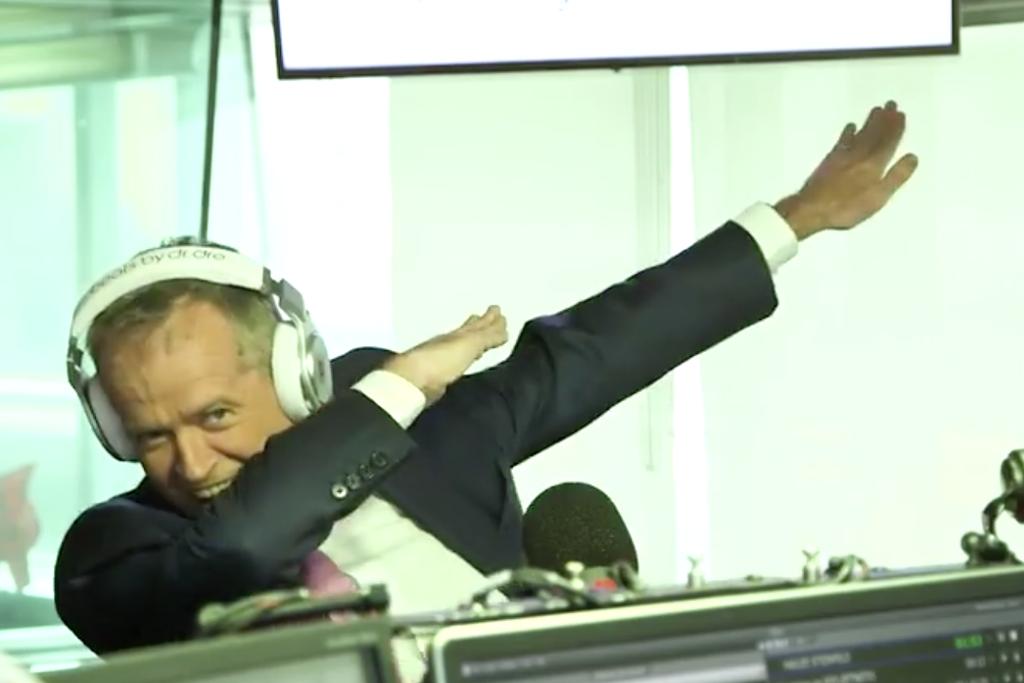 Shorten takes aim at Fitzy and Abbott in rap battle