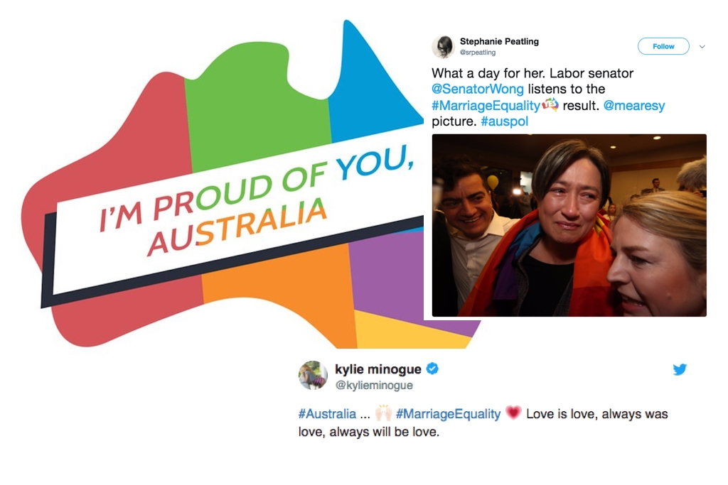Marriage Equality How Australia Is Reacting To The Incredible Yes Vote