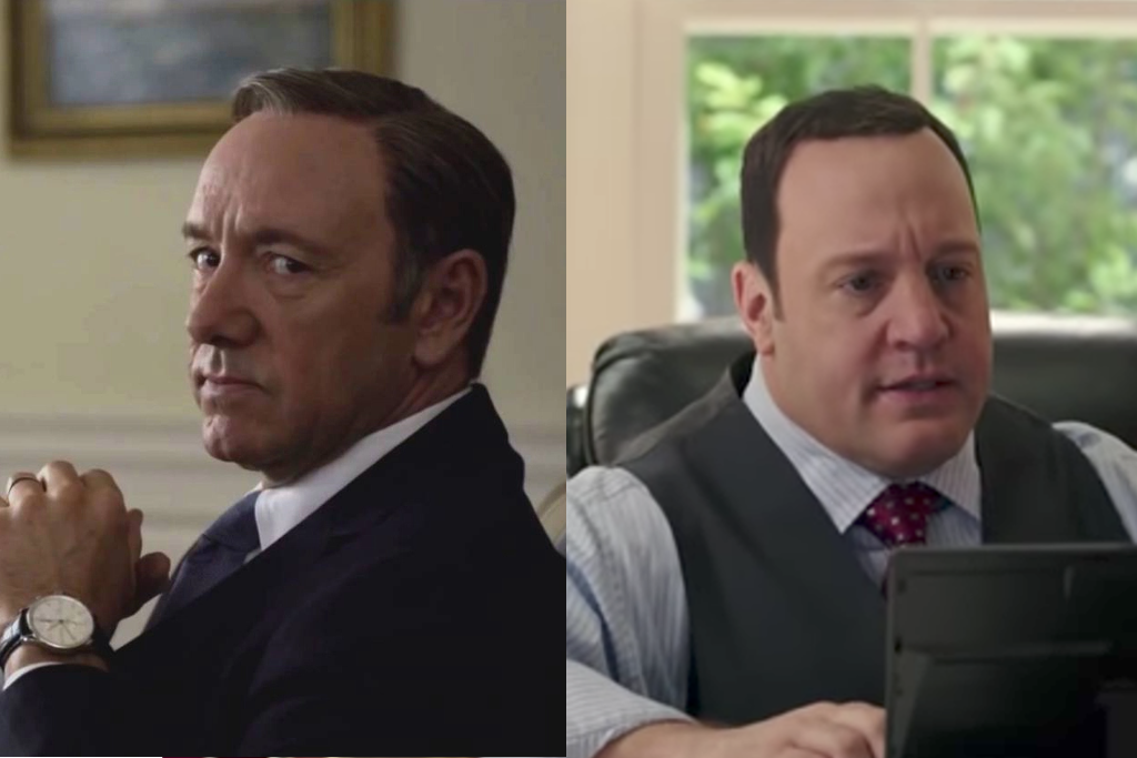 A Petition Calling For Kevin James To Replace Kevin Spacey In U0027House Of  Cardsu0027 Is Going.