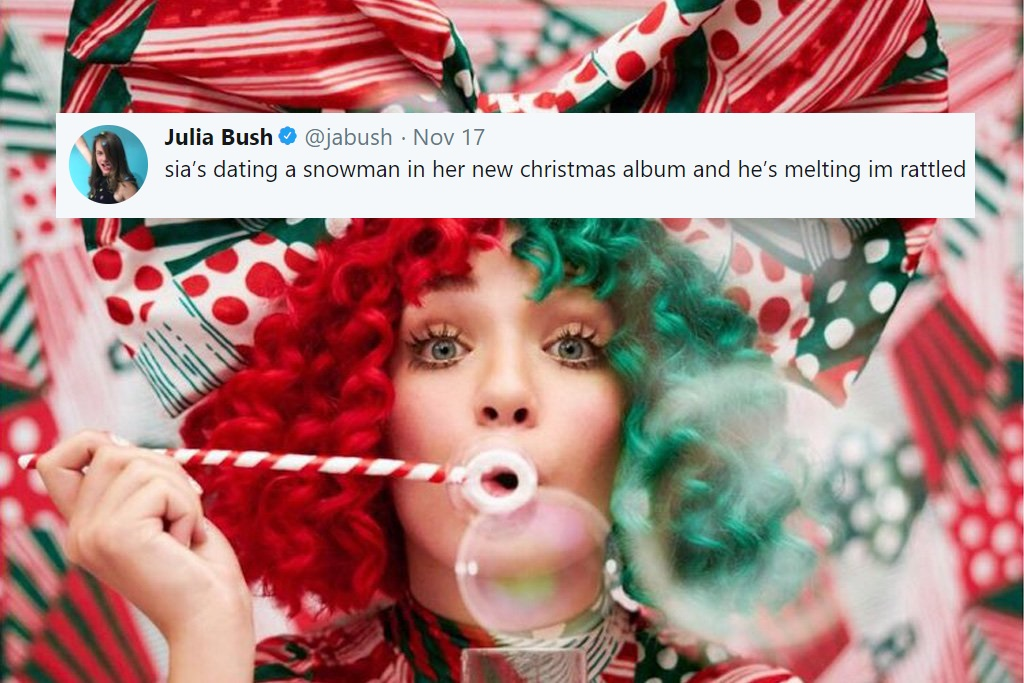 Everyday Is Christmas.Sia Releases New Christmas Album Called Everyday Is Christmas