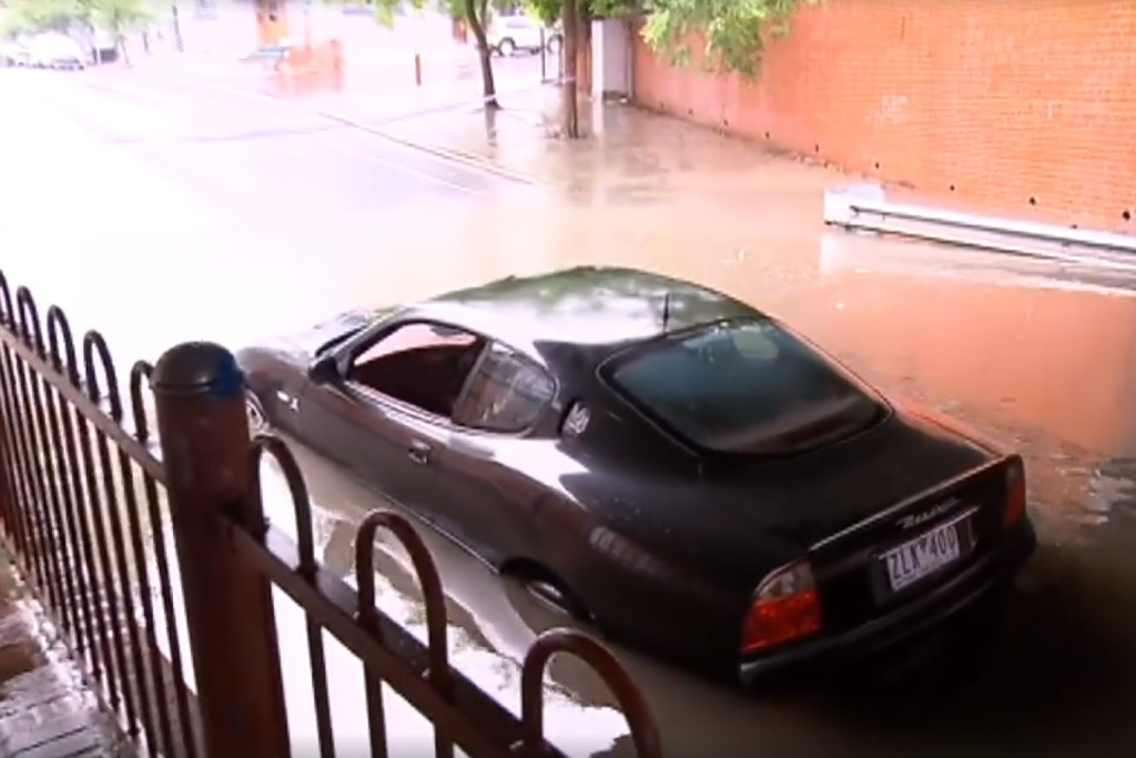 Maserati flood melbourne