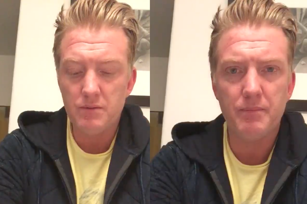 Video Shows QOTSA's Josh Homme Kicking Camera Into Photographer's Face