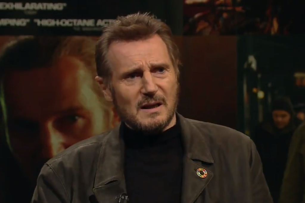 Liam Neeson: Sexual harassment allegations against Dustin Hoffman are 'childhood stuff'