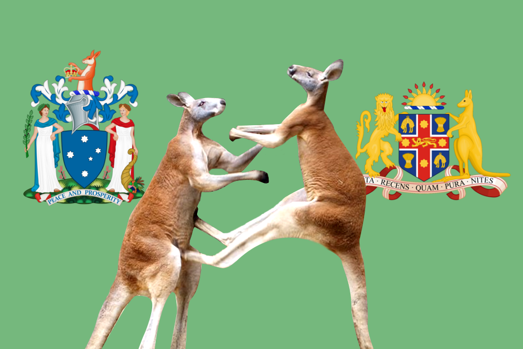 Which Australian State Coat Of Arms Would Win In A Fight