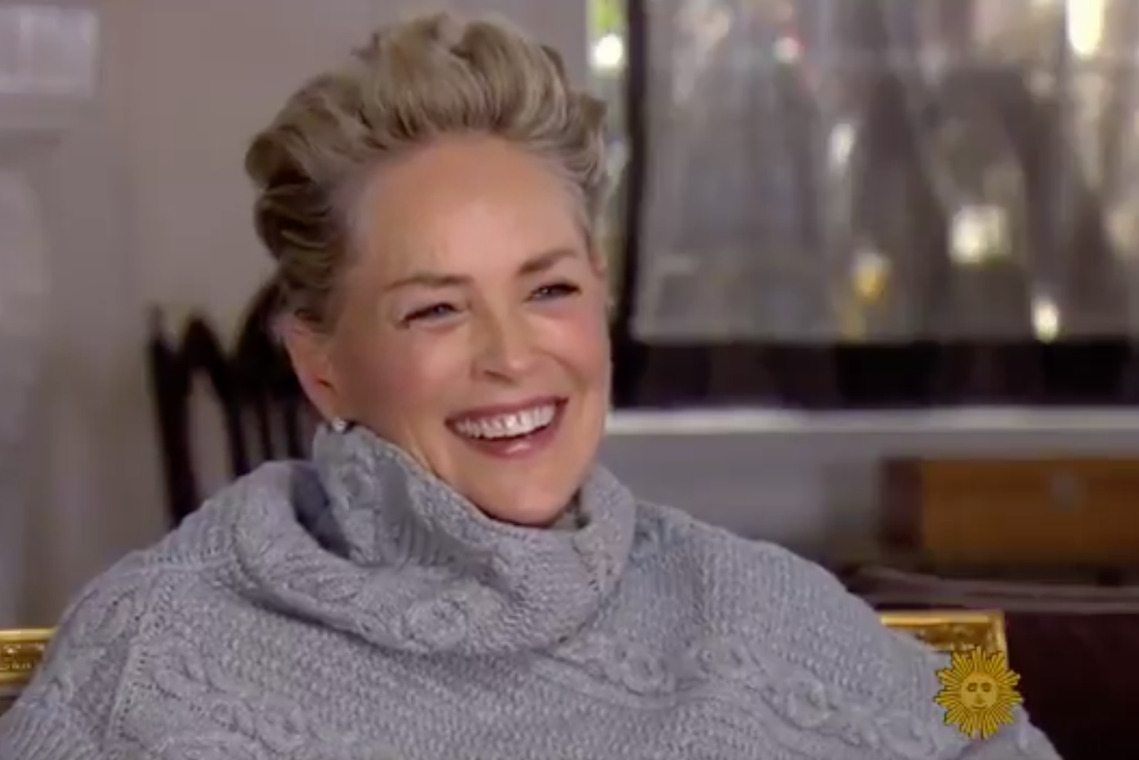 Sharon Stone's powerful response to a question about sexual harassment