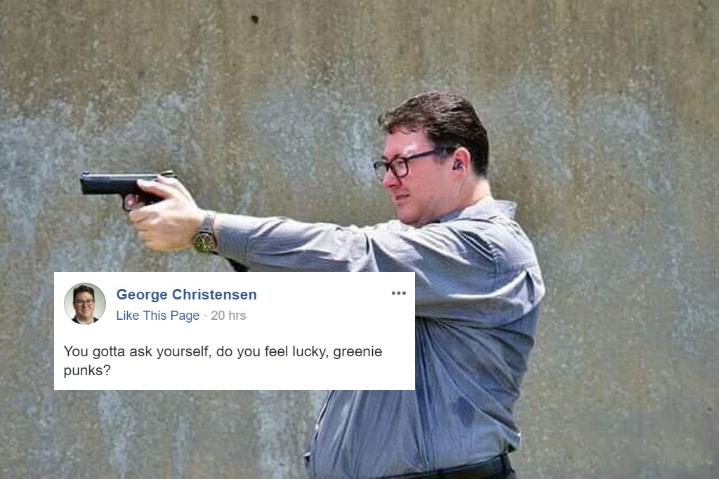 Nationals MP George Christensen Joked About Shooting