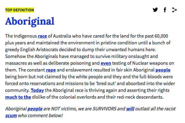 what is the name of the aboriginal people english 2 essay Free essay: working effectively with aboriginal and torres strait islander people why are indigenous people in australia still disadvantaged with regard to.