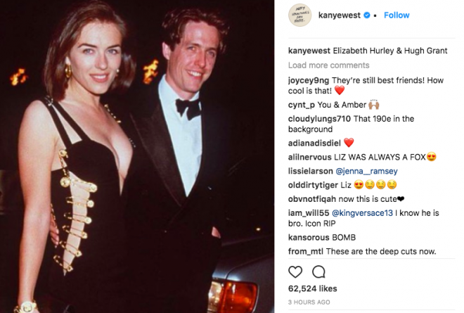 Kanye West Spent Valentine's Posting Pics Of Failed