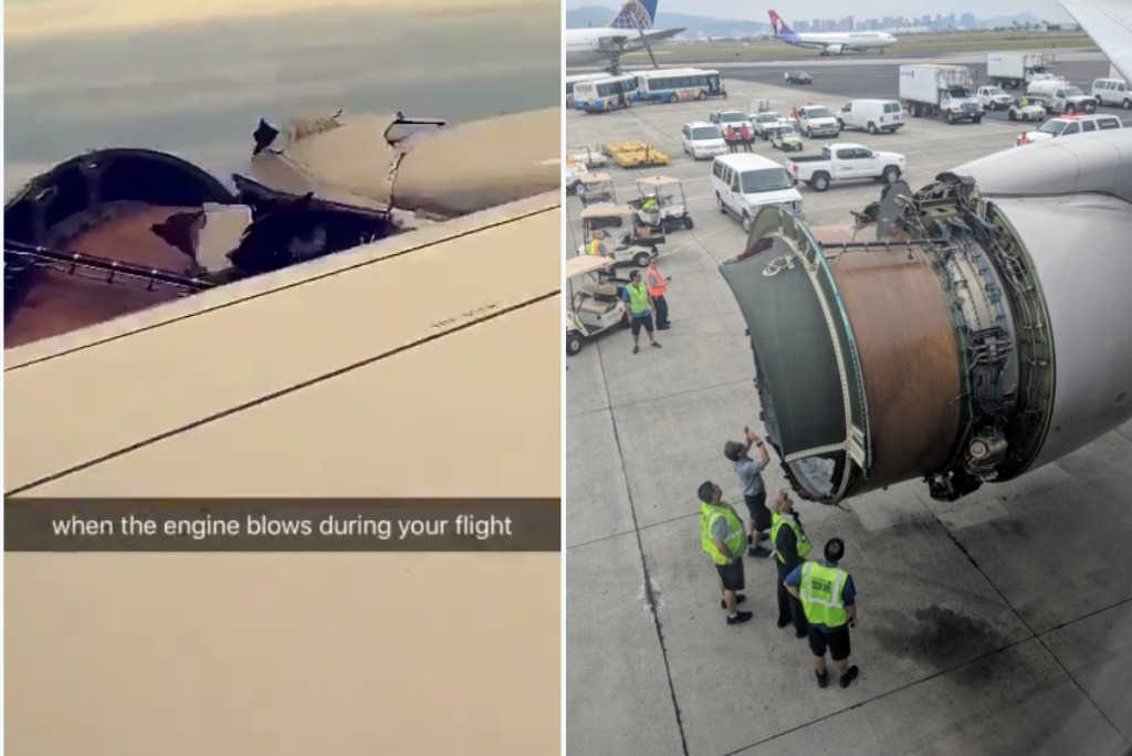 Engine cover blows off Hawaii-bound United flight in midair (photos, video)