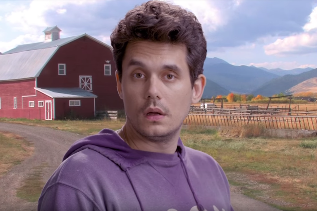 John Mayer's green screen music video is a meme dream come true