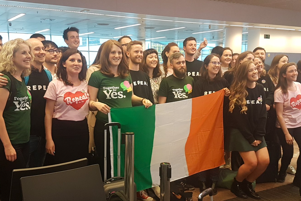#HomeToVote Ireland