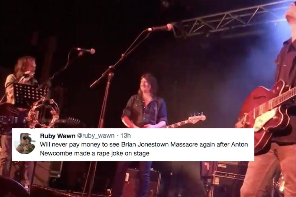 Brian Jonestown Massacre Frontman Made A Rape Joke At The