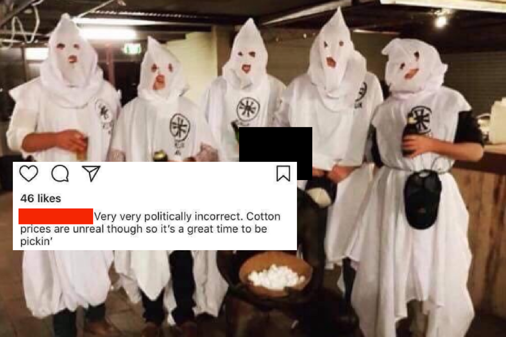 University students facing expulsion after dress-up party