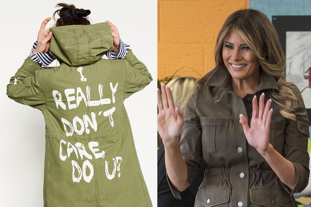 Image result for melania trump I don't care