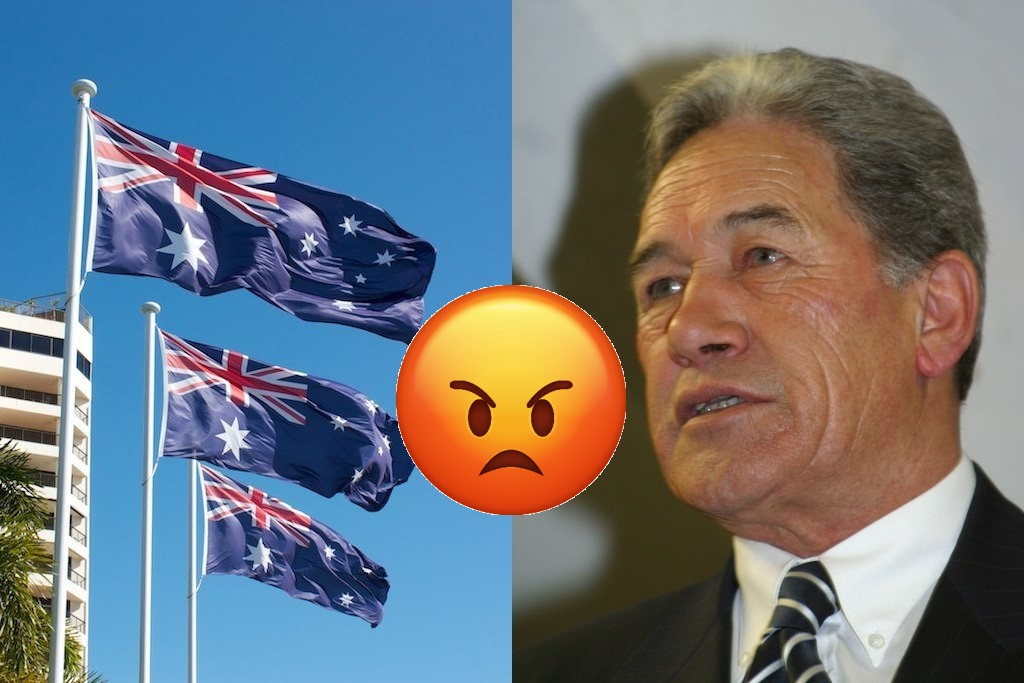 Australia stole our flag, claims stand-in New Zealand leader Winston Peters