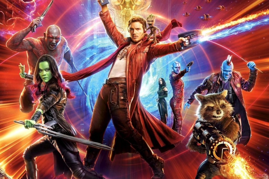 Guardians cast James Gunn