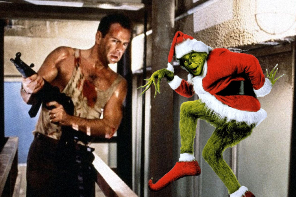 ho ho ho its the opposite of a christmas miracle bruce willis has gone full grinch on us and decided once and for all that die hard is not in fact