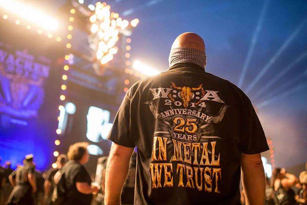 Two German elders trade nursing home for 'world's largest' heavy metal fest