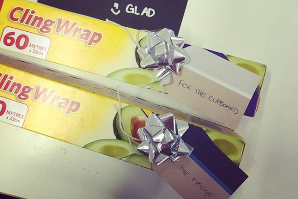 The Hill I Will Die On: Glad Wrap Should Be Stored In The Fridge