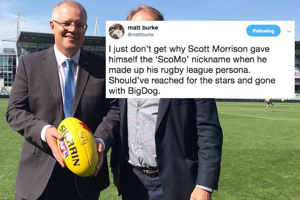 Scott Morrison Is Not The Sport Loving Jock He Pretends To Be