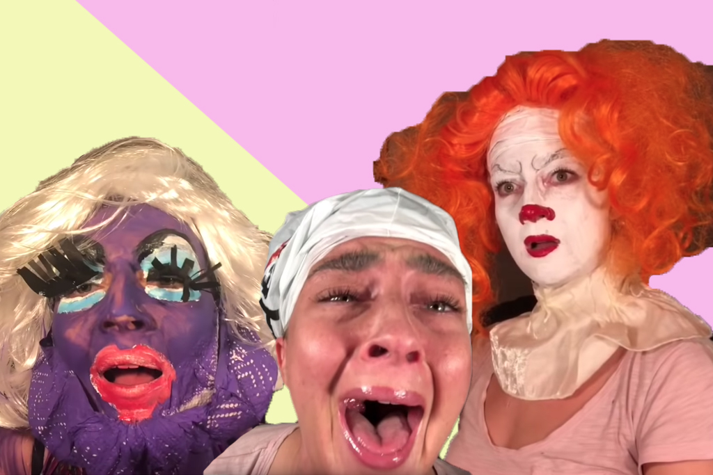 These Extremely Stoned Halloween Makeup Tutorials Are Very Funny - Halloween-makeup-tutorial