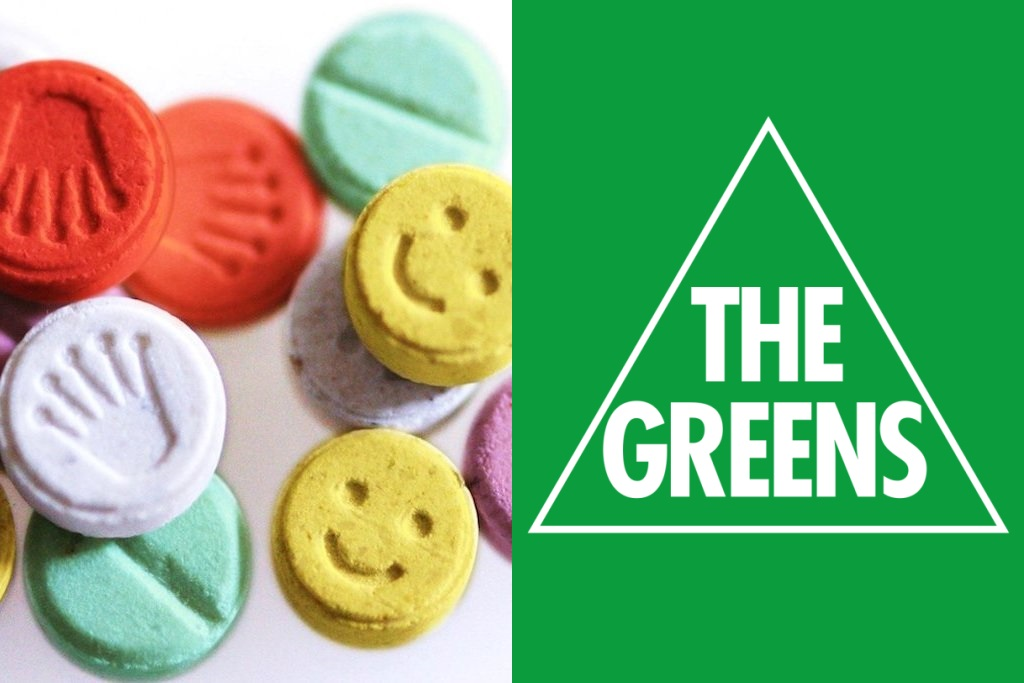 Greens announce plans for national pill testing facilities